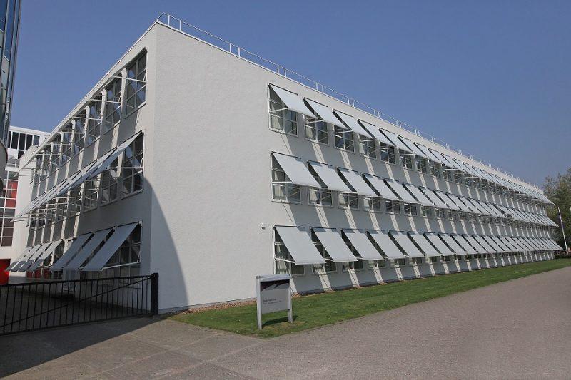 Projectzonwering Fontys Tilburg © Brands Zonwering & Rolluiken